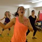 Xanada a Mária Angelica při Mezinárodním dni tance 2015 v Pardubicích